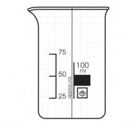 Стакан высокий с градуировкой - 50мл, ТС